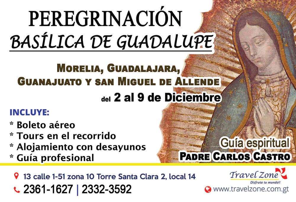 Peregrinación Basílica de Guadalupe Diciembre 2017