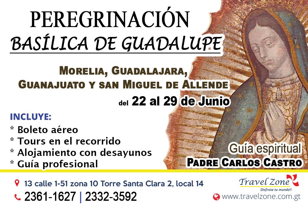 Peregrinación Basílica de Guadalupe Junio 2018