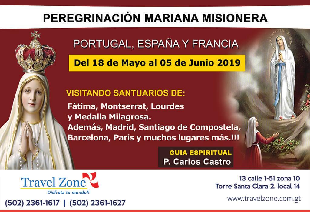 Peregrinación Mariana Misionera